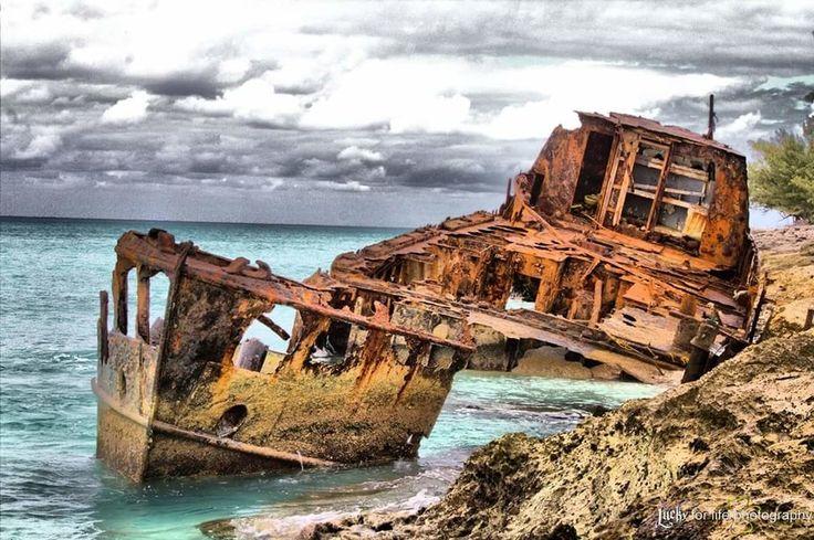 Ship wrecked