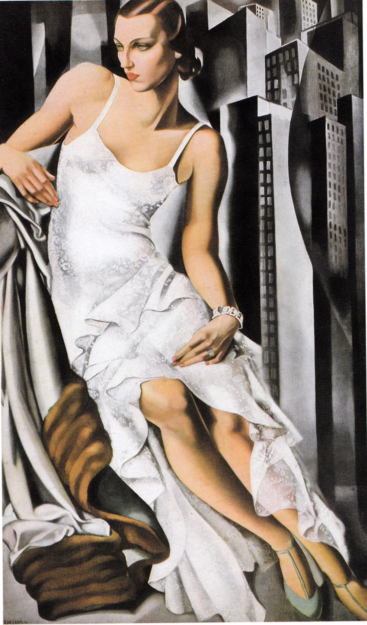 painting by tamara de lempicka tamara de lempicka. Black Bedroom Furniture Sets. Home Design Ideas