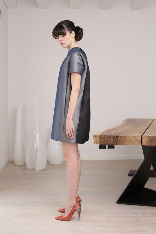 #shortdress by #MartaCucciniello, in #silk #taffeta with #organza ... #fashion #fashiondesigner #MadeinItaly #collection #FW1415 #dress  http://blog.martacucciniello.com/post/94419897534/short-dress-in-coupled-taffetas-organza#sthash.vS5UDCdo.dpuf