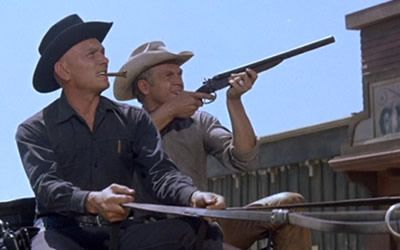 "The Magnificent Seven  ""Nobody throws me my own guns and says run. Nobody."""