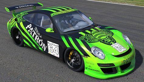 2008 Orbit Racing Porsche 911 GT3 Cup Challenge Patron tequilla by Stephane Parent - Trading Paints