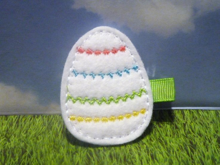 Excited to share the latest addition to my #etsy shop: Cute Little Easter Egg - Felt Embellishment Easter Egg Hair Clip in Lime/Yellow/Pink/Purple - LAST ONE LEFT http://etsy.me/2GJToiV #accessories #hair #easter #clip #barrette #accessory #girl #child #baby