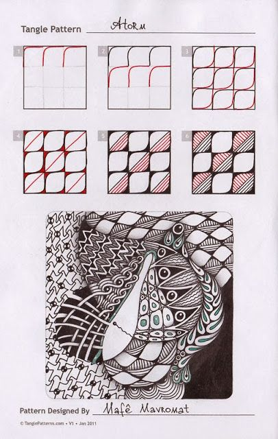 Touching the World Creativity ...: Zentangle. Education.
