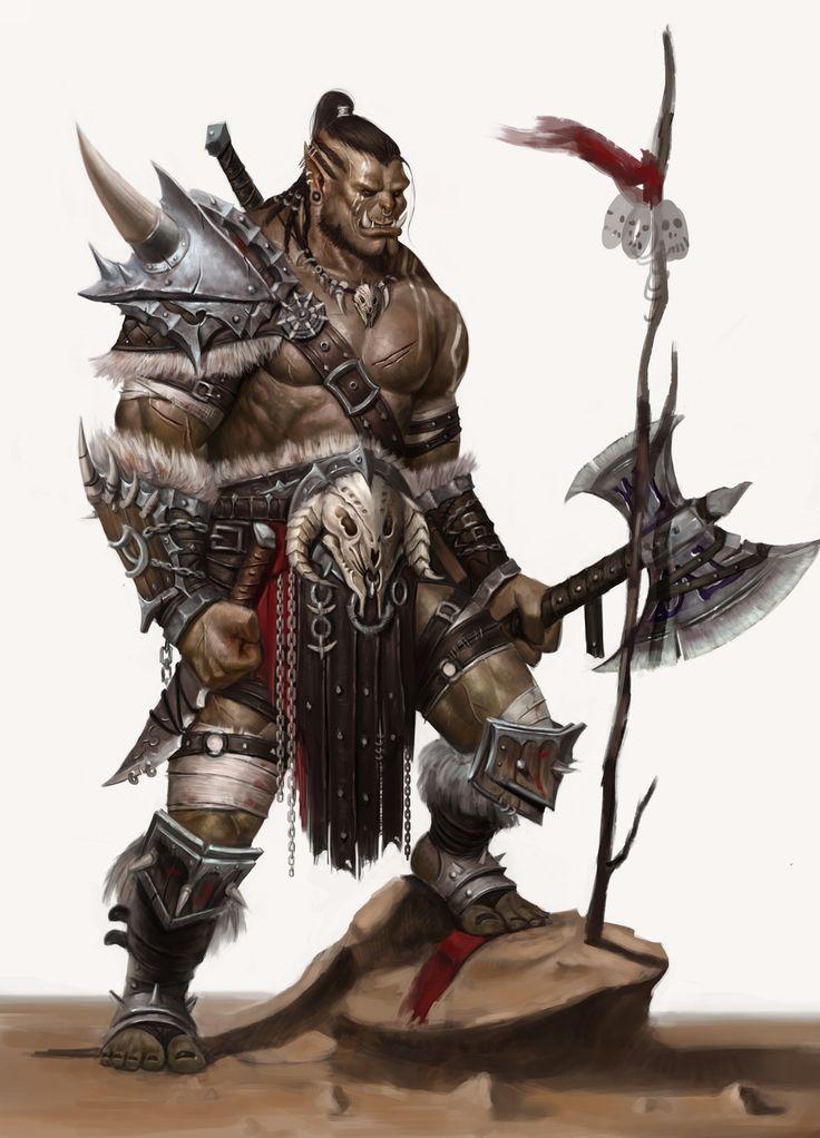 Orc, Azogh Lider de Clã.