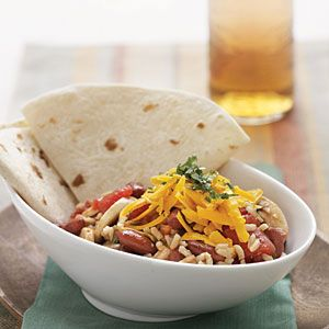 southwestern red beans & rice - - this is a delicious vegetarian main ...