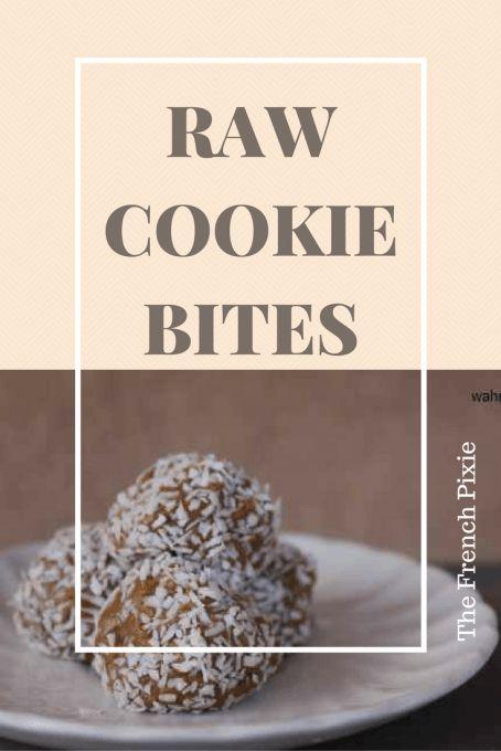 raw cookie bites