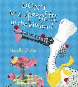 Unit of work for Foundation by Jos Pullen on Don't Let a Spoonbill in the Kitchen! by Narelle Oliver.