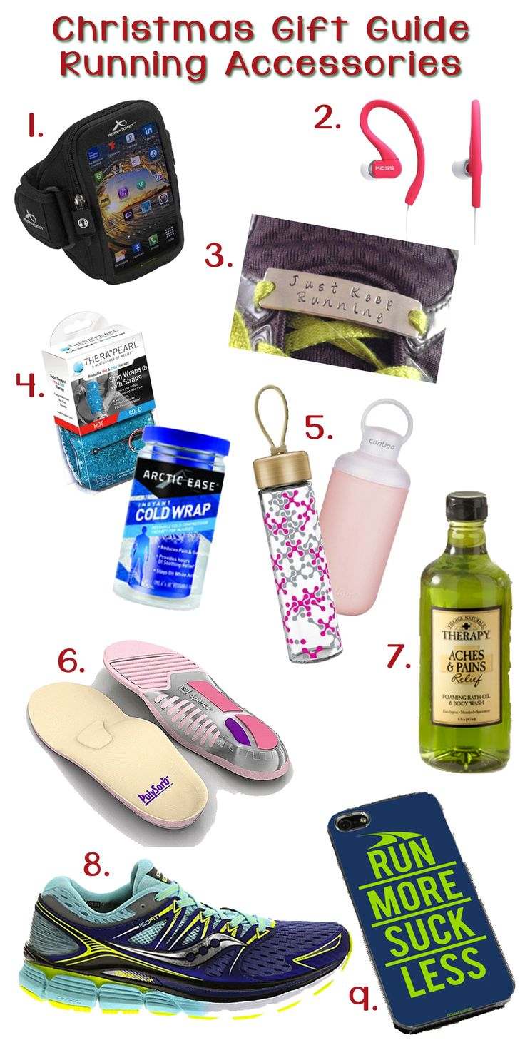 The Christmas Gift Guide for Running Accessories! Any of these gifts will make your runner happy this holiday season!