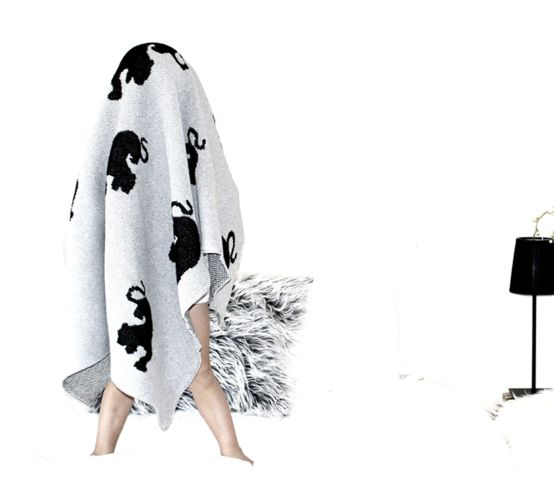 Please note that this blanket is available for Pre - order. Item ship Date: 13th Jan 2015 Blankets are knitted of80% recycled organic cotton and 20% polyester