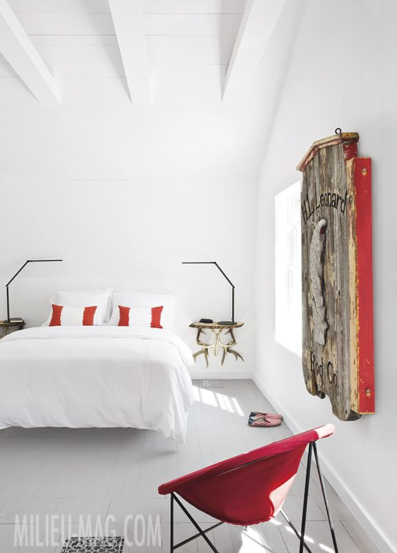 spainish designer serge castella featured in the summer 2015 issue of milieu rustic bedroomsbedroom