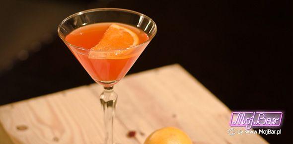 OLE  Dobrze uzupelniające się składniki: brandy - 40ml, licor 43 - 20ml, pomarańczowy sok - 30ml  Przepisy na drinki znajdziesz na: http://mojbar.pl/przepisy.htm