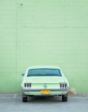 Vert vintage.