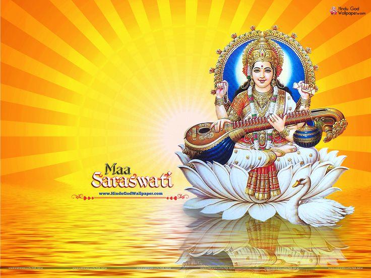 Maa Saraswati Wallpaper Full Size for Desktop Maa Saraswati Wallpapers Pinterest Wallpaper