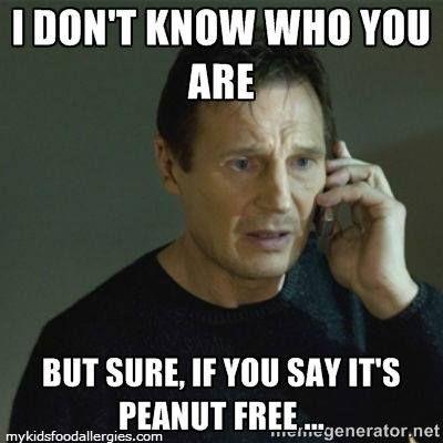 a9b7f8fb826c4ce35c83f35303a772e2 memes 8 best food allergy memes images on pinterest allergy memes
