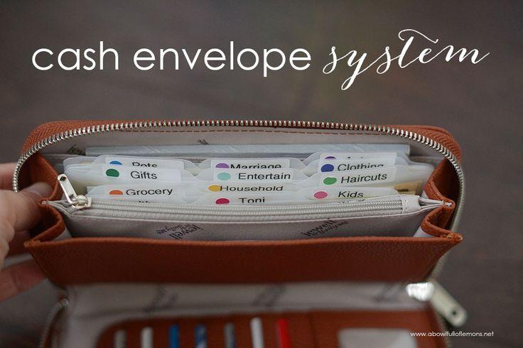 Cash Envelope System by A Bowl Full of Lemons  #cashenvelopeysystem #debtfree…