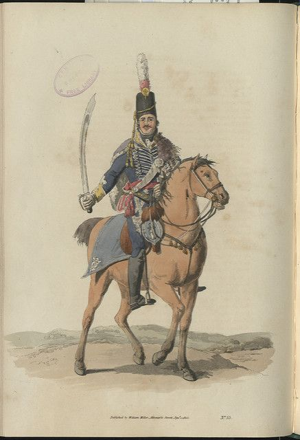 A Dragoon by W H Pyne | by Bristol Libraries