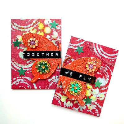 Tando Creative: BFF Butterfly ATC Set