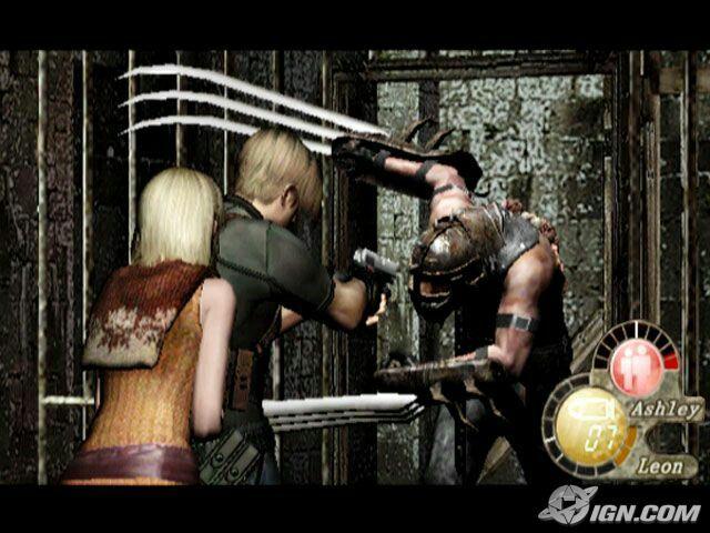 Leon Ashley Resident Evil 4