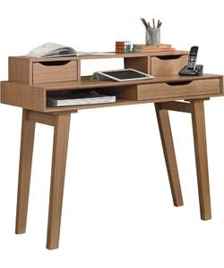Buy Hygena Retro Desk - Oak Effect at Argos.co.uk - Your Online Shop for Office desks, Office desks.: Retro Styles, Retro Desk