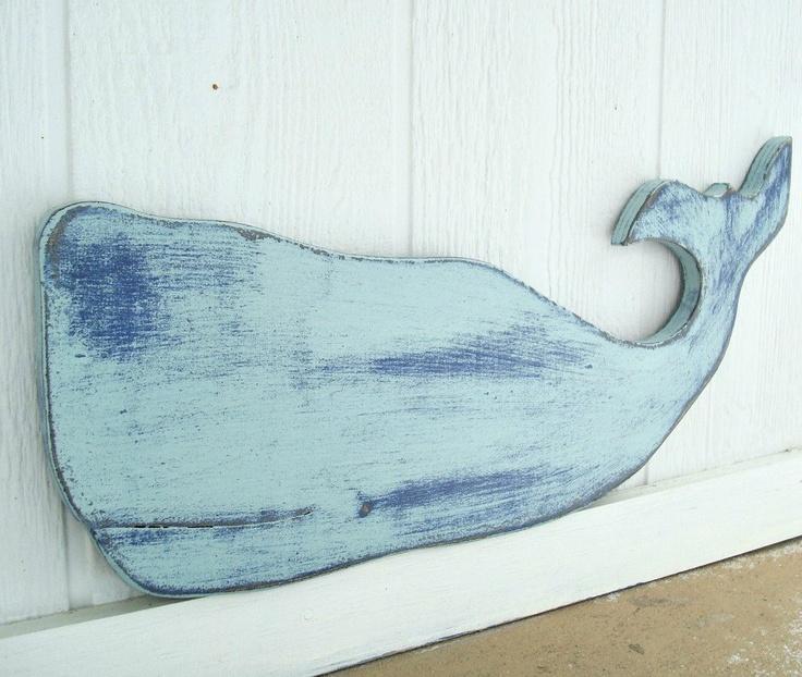 Wood Sailboat Wall Decor : Two tone whale wood wall art the o jays nautical and