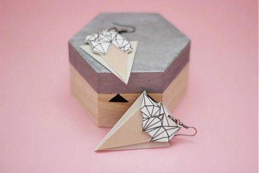Polygon by i.v. - SAShE.sk - Handmade Náušnice