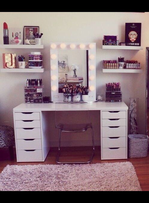 Makeup desk | Mg W.'s Photo | Beautylish