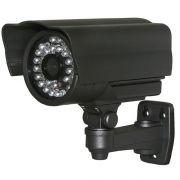 Langdistance kamera, 100m, 700 TVL, Sort