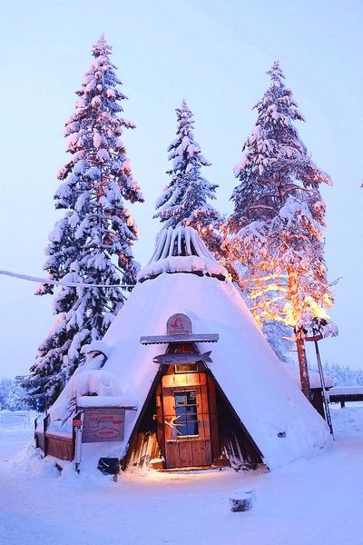 Snowy Hut | Amazing Pictures - Amazing Pictures, Images, Photography from Travels All Aronud the World