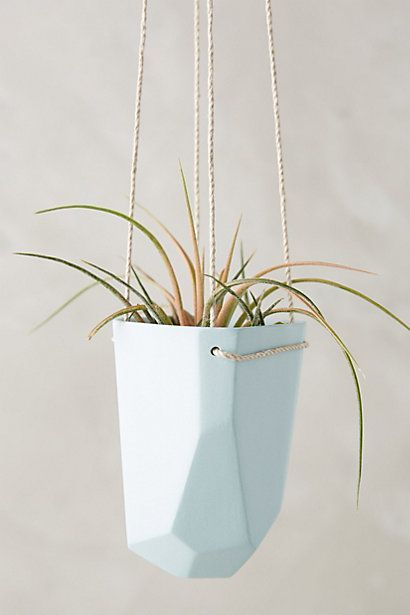 Crystal Cut Hanging Planter