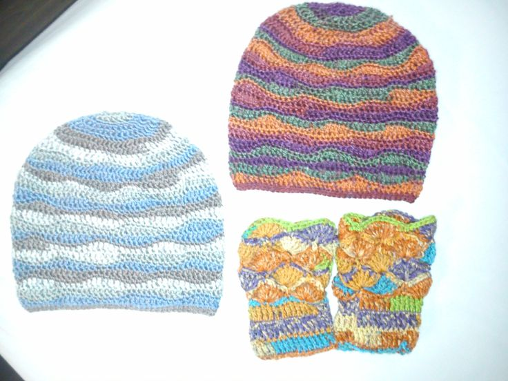 hats and wrists for kids, crochet