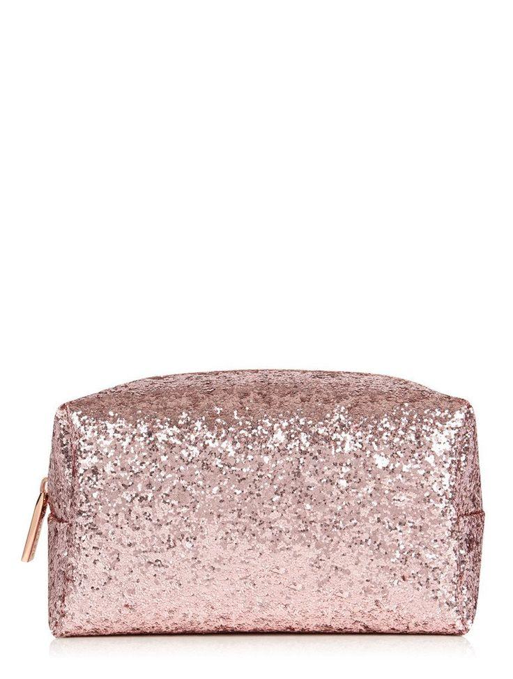 Rose Gold Dita Make Up Bag