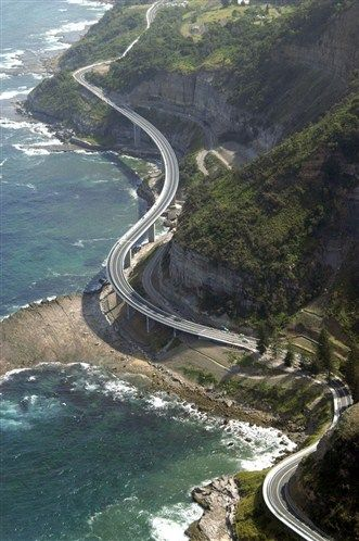 Grand Pacific Drive ... one of the most scenic road trips ... in New South Wales, Australia