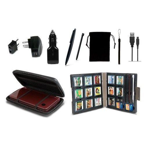 11 in 1 Starter Kit for DSi XL - Black