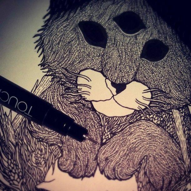 #shapefromhell #cat #penandink #drawing #sketchbook #sketch #art #kitten #blackart #darkart #blackink #blackandwhite #blackwork #dotwork #wip