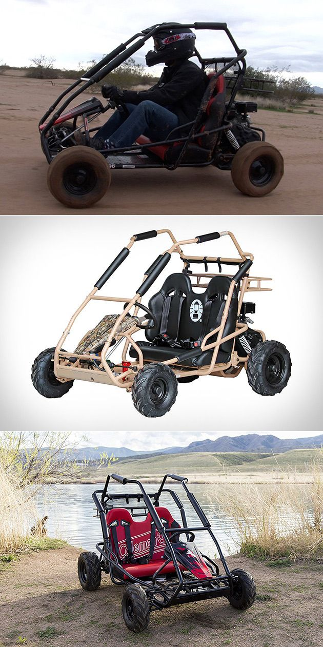 You Can Actually Buy the Coleman Powersports KT196 Go-Kart ...