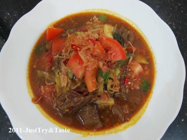 Just Try & Taste: Tongseng Daging Sapi