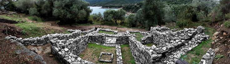 Panoramic view of the ancient city