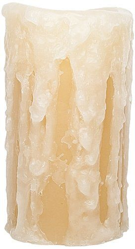 Xtraordinary Ideas H1003 Flameless LED Candle with 4-Inch by 8-Inch Heavy Drip Ivory/Tan by Xtraordinary Ideas. Save 19 Off!. $29.97. Finally, The first to offer realistic candle brightness through the advent of advanced LED technology. With real wax, melted edges and authentic flickering, no one will know the difference. You'll provide a safer environment for your friends, customers, children and even pets. Ideal for homes, restaurants, hotels, catering, special events, churches...