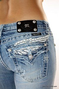 Miss Me Angel Wing Jeans  I LOVE THE PAIR I HAVE!!!!!