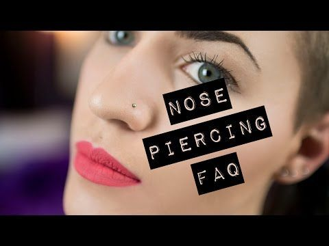 Nose Piercing Scar, Bump, Pain, Infection, Tissue, Care and