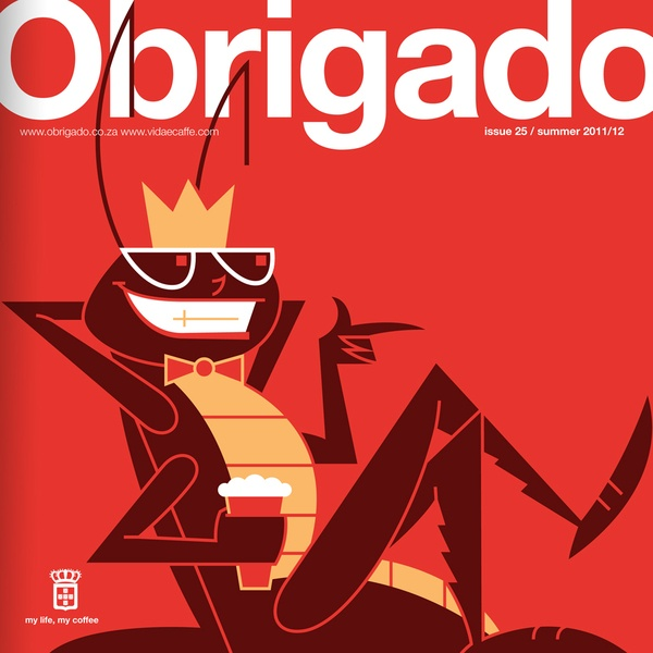 Obrigado Magazine by Kronk , via Behance
