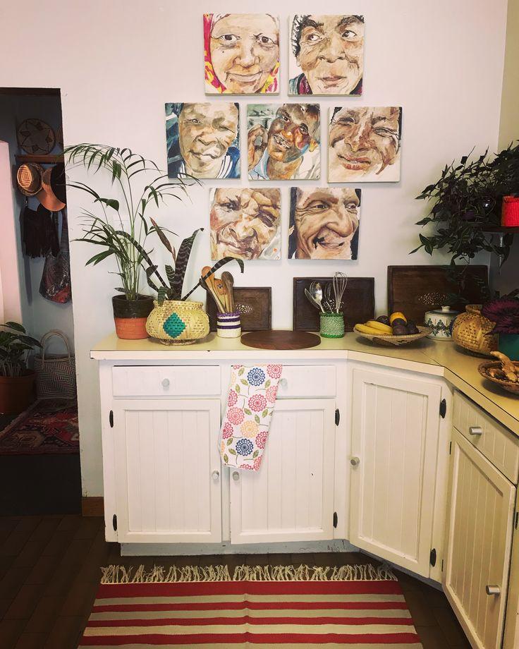Bohemian Kitchen #bohointeriors #gypseydecor #bohoglam #boho #bohemianstyle #bohostyle #beautifullyboho #gypseyset #makeityours #inmydomain #bohochic #electichome #eclecticdecor #maximalism #myhomevibe #planteriordesign #myhyggehome