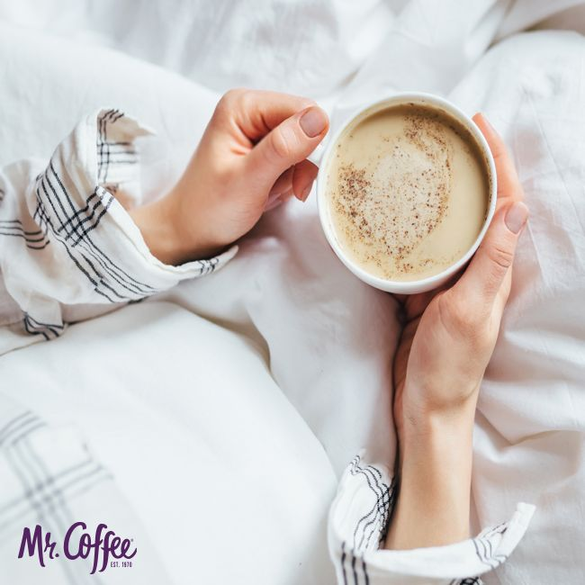 Good mornings are made better with coffee! #MrCoffee