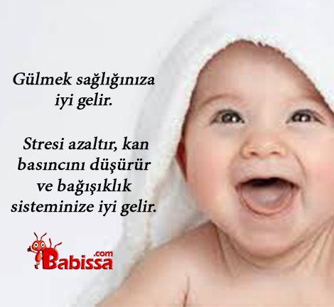 Strese karşı en iyi çözüm gülmektir.