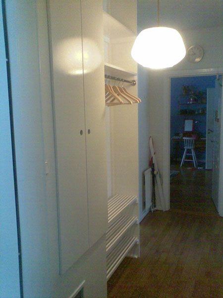 platsbyggd garderob förvaring skohylla moderskeppet stockholm