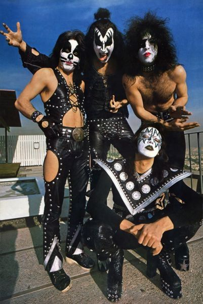 Kiss photo sessions 1975