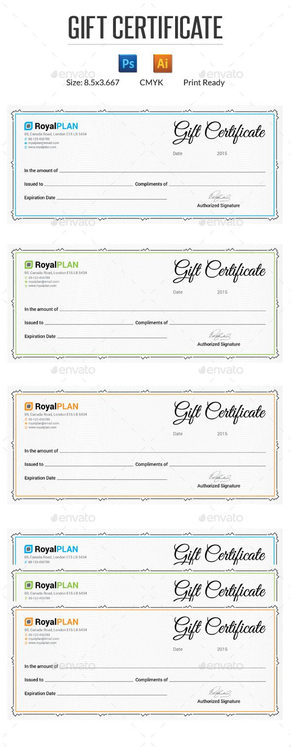 25+ best ideas about Gift certificates on Pinterest | Mark ...