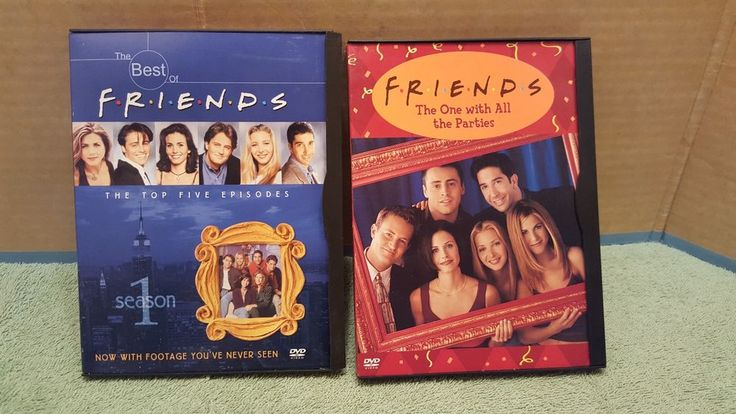 THE BEST OF FRIENDS SEASON 1 &  FRIENDS THE ONE WITH ALL THE PARTIES DVD`S