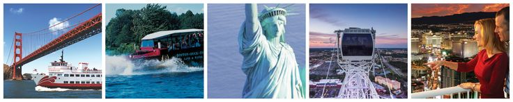 Go City Card Unveils the Most Popular Tours and Attractions in 10 U.S. Cities Based On Gate Entry Tallies