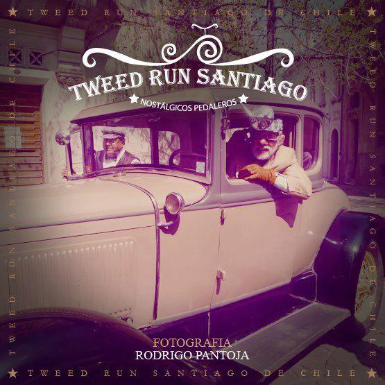 """En Burra. Paseos en bicicleta """"Tweed Run"""" por las calles de Santiago de Chile."""